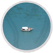 Black Sea Round Beach Towel
