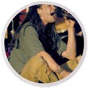 Blind Melon Singer Shannon Hoon Round Beach Towel