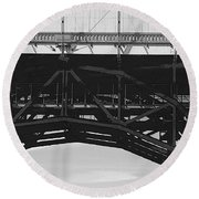 Bloor Street Viaduct Round Beach Towel