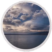 Blue By You Round Beach Towel