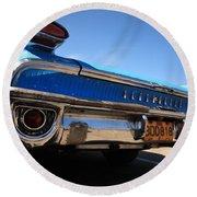 Blue Car Bumper Havana Round Beach Towel