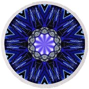Blue Haven Round Beach Towel