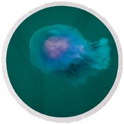 Blue Jelly Series 2 Round Beach Towel