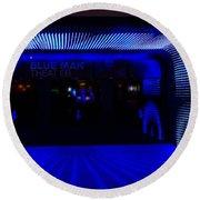 Blue Man Group Theater Round Beach Towel