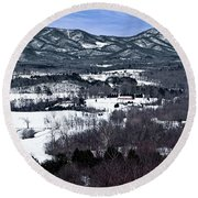 Blue Ridge Vista Round Beach Towel