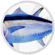 Bluefin Tuna Round Beach Towel by Carey Chen