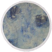 Blueish Round Beach Towel