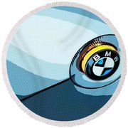 Bmw 40 Round Beach Towel