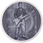 Bo Diddley - Have Guitar Will Travel Round Beach Towel