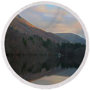 Boat House At Crummock Round Beach Towel
