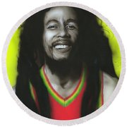 Bob Round Beach Towel