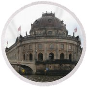 Bode Museum - Berlin - Germany Round Beach Towel