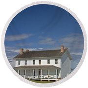 Bodie Lighthouse Obx Round Beach Towel