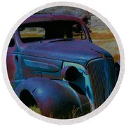 Bodie Plymouth Round Beach Towel