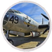 Boeing B-29a Superfortress Round Beach Towel