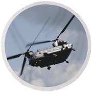 Boeing Chinook Round Beach Towel