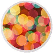 Bokehful Round Beach Towel