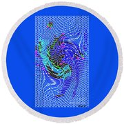 Bold And Colorful Phone Case Artwork Designs By Carole Spandau Cbs Art Angel Fish 112 Round Beach Towel