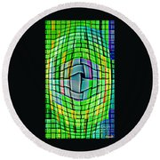 Bold And Colorful Phone Case Artwork Designs By Carole Spandau Cbs Art Exclusives 103 Round Beach Towel