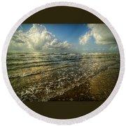 Bolivar Dreams Round Beach Towel