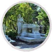 Bonaventure Cemetery 2 Round Beach Towel