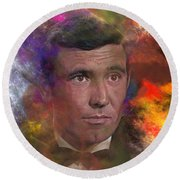 Bond - James Bond 2 - Square Version Round Beach Towel