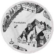 Bonn Saint Remigius Round Beach Towel
