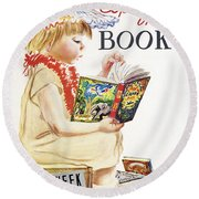 Book Week, 1961 Round Beach Towel