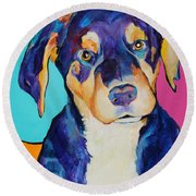 Boone Round Beach Towel