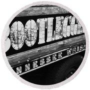 Bootleggers Inn Nashville Tennessee Round Beach Towel