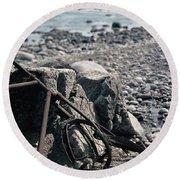 Bornholm Bicycle Round Beach Towel