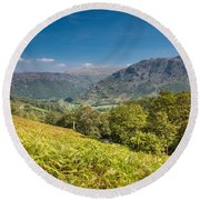 Borrowdale Round Beach Towel