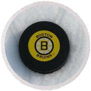 Boston Bruins Round Beach Towel