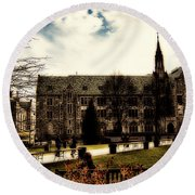 Boston College Round Beach Towel