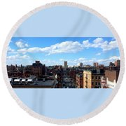 Boston Round Beach Towel