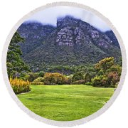 Botanical Garden Round Beach Towel