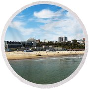Bournemouth Bay Round Beach Towel