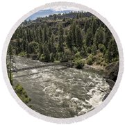 Bowl And Pitcher Area - Riverside State Park - Spokane Washington Round Beach Towel