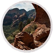 Boynton Canyon 08-160 Round Beach Towel