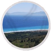 Bragini Beach One Round Beach Towel