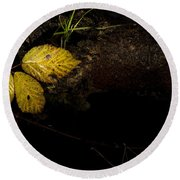 Bramble Tree Round Beach Towel