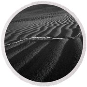 Branch Out In The Desert Round Beach Towel
