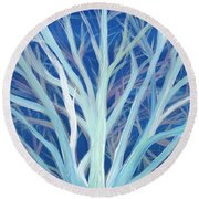 Branches By Jrr Round Beach Towel