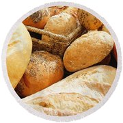 Bread Round Beach Towel