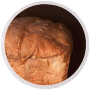 Bread Round Beach Towel