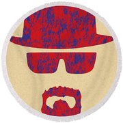 Breaking Bad - 4 Round Beach Towel
