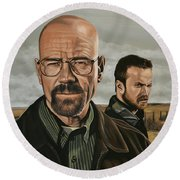 Breaking Bad Round Beach Towel