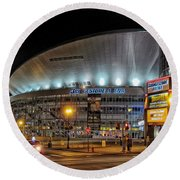Bridgestone Arena - Nashville Round Beach Towel