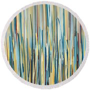 Brighter Day Round Beach Towel