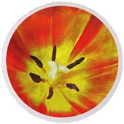 Brighter Days Round Beach Towel